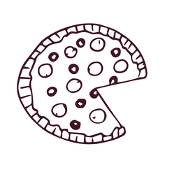 Personalisierung Pizza Partnerlook