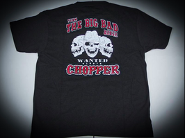 CHOPPER BIG BAD BIKER T-SHIRT