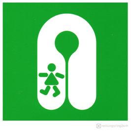 IMO-Aufkleber Child's Lifejacket - Kinder-Rettungsweste