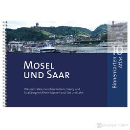 Sportbootkarten Binnenkarten Atlas 10 - Mosel und Saar