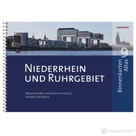 Sportbootkarten Binnenkarten Atlas 9 - Niederrhein und Ruhrgebiet