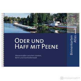 Sportbootkarten Binnenkarten Atlas 1 - Oder und Haff mit Peene