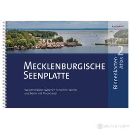 Sportbootkarten Binnenkarten Atlas 2 - Mecklenburgische Seenplatte