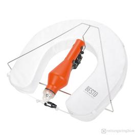 Hufeisen-Rettungsring-Set Weiß Besto