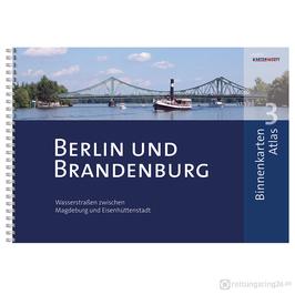 Sportbootkarten Binnenkarten Atlas 3 - Berlin und Brandenburg