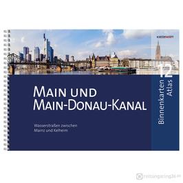 Sportbootkarten Binnenkarten Atlas 12 - Main und Main-Donau-Kanal