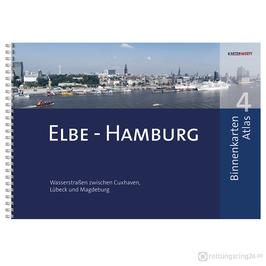 Sportbootkarten Binnenkarten Atlas 4 - Elbe - Hamburg