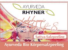 NEU - in unserer schönen Braunglasdose - Körperpflege - Sattva Bio Salzpeelingsalz