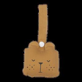 Fabelab ||  Animal rattle bear | ochre |