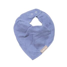Fabelab || Halstuch Musselin & Frottee | marina blue |