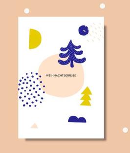 Anna Beddig | Postkarte | Weihnachtsgrüße