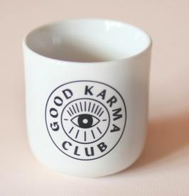 Navucko   Porzellanbecher Good Karma Club