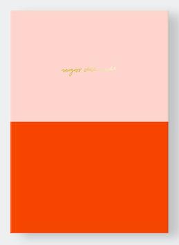 Navucko | Notizbuch - Vergiss dich nicht | Colorblock
