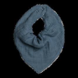 Fabelab || Halstuch Musselin & Frottee | blue spruce |