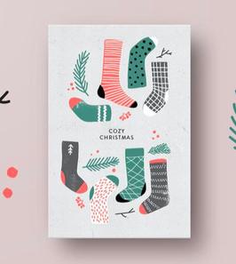 Anna Beddig | Postkarte | Cozy Christmas