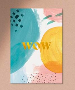 Anna Beddig | Postkarte | WOW Golddruck
