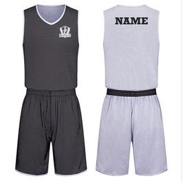 KNIGHTS Trainings-Wendeset schwarz/weiß mit Wunschname und Logo