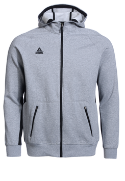 PEAK Zip Hoody Grey