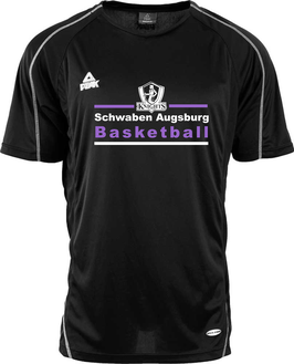 PEAK KNIGHTS Shooting Shirt (schwarz) mit Wunschname