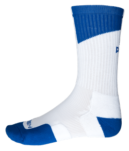 PEAK Socks White / Royal