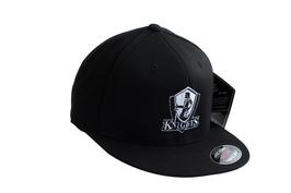 KNIGHTS Cap mit flachem Schirm und Logo