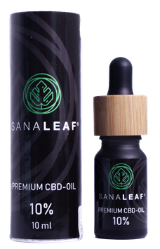 SANALEAF® Premium Vollspektrum CBD-Öl 10%