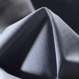 Coton à fines rayures