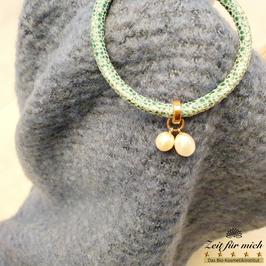 Armband mit 2er Perlenanhänger