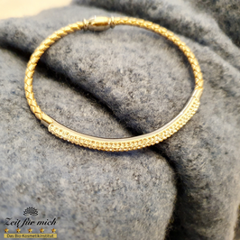 Silbernes Armband mit Glitzer