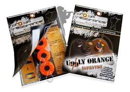 "AAA-Shocks ""uggly orange infantry"" Edition Set für Xbox 360"