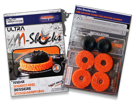 "NEU: ULTRA AAA-Shocks ""Uggly Orange Infantry"" Edition Set für PlayStation 4"