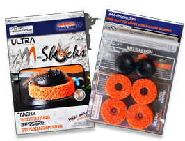 "NEU: ULTRA AAA-Shocks ""Uggly Orange Infantry"" Edition Set für Xbox One"