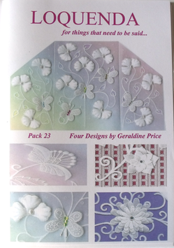 PATTERN PACK 23 BY GERALDINE PRICE