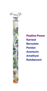 "Edelstein Energiestab ""Positive Power"" 19cm"