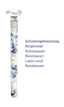 """Edelstein Energiestab """"Schutzengel"""" 19cm"""