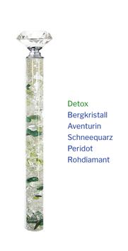 """Edelstein Energiestab """"Detox"""" 19cm"""