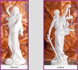 """""""Fortuna"""" & """"Justitia"""" als Set-Angebot"""