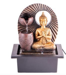 Zimmerbrunnen Buddha 25cm  **letzter Artikel** kommt nicht wieder!