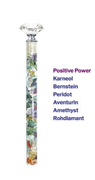 """Edelstein Energiestab """"Positive Power"""" 25cm"""