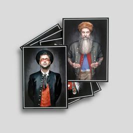 Postkartenset »Mannsbilder«