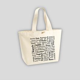 Mundart-Einkaufstasche XL