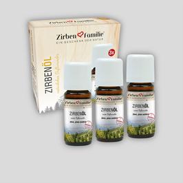 3er-Pack ZirbenÖl 10 ml