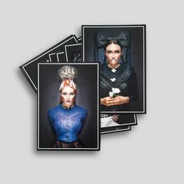 Postkartenset »Mädels«