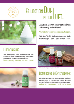 """Duft in der Luft""  Flyer"