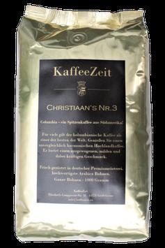 CHRISTIAAN'S NR. 3 - Columbia (Kaffee)