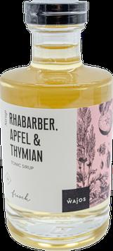 Tonic Sirup Rhabarber, Apfel und Thymian
