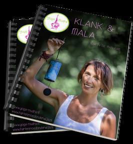 leskaart Werkboek Klank en Mala voor kinder-en tieneryoga docenten