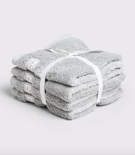 Organic Cotton Premium Handtuch, hellgrau (light grey)