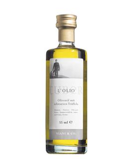 Trüffelöl mit Sommertrüffeln - Olio d'oliva al tartufo nero
