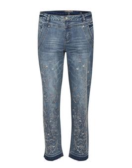 Jeans, locker geschnitten, Destroyed-Effekte, Used Look, Five-Pocket-Style